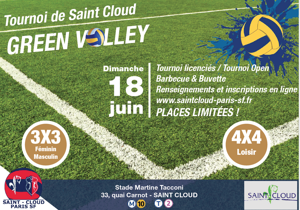 Green Volley 18 Juin 2017